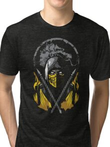 Mortal Kombat - Scorpion Tri-blend T-Shirt