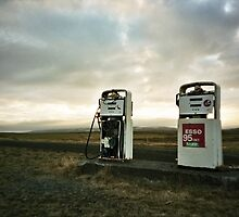 Lomo - Gasstation by Thomas Spiessens