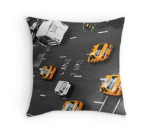 cab@nyc Throw Pillow