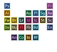 Adobe Table of Elements by Jeremy B