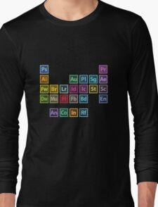 Adobe Table of Elements Long Sleeve T-Shirt