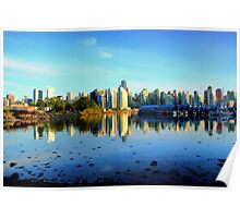 Time for Reflection - Vancouver, B.C. Poster