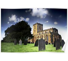 Breedon on the Hill Priory Church Poster