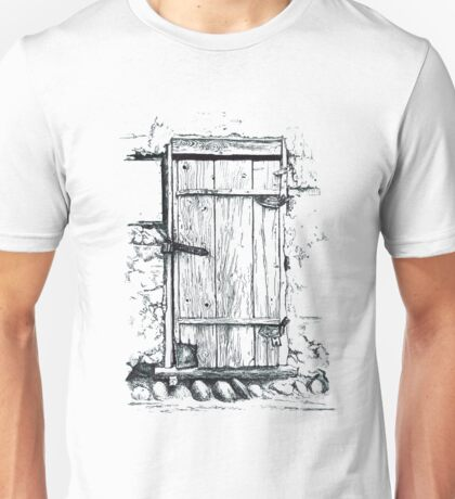 Locked door Unisex T-Shirt