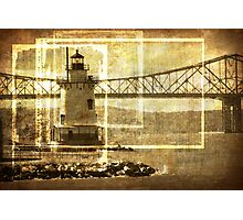 Lighthouse In Sleepy Hollow  Photographic Print