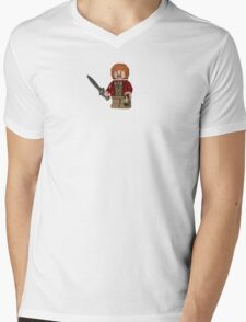 LEGO Bilbo Baggins Mens V-Neck T-Shirt