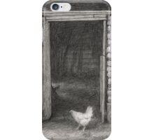 Little white hen iPhone Case/Skin