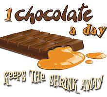 Chocolate - 1 chocolate a day... by Kartoon