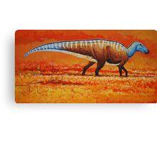 Field of Gold - Edmontosaurus Canvas Print