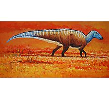 Field of Gold - Edmontosaurus Photographic Print
