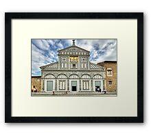 San Miniato al Monte - Florence Framed Print