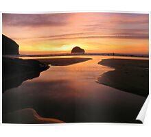 Cornwall: Pastel Reflections Poster