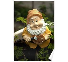 Painty the Garden Gnome Poster
