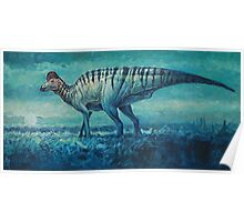 Prairie Moon - Corythosaurus Poster