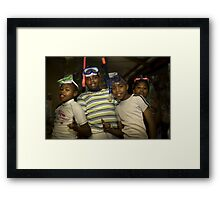 Bright Boys Framed Print
