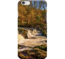 Cenarth Falls and Mill iPhone Case/Skin