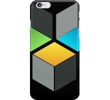 Cube Composition iPhone Case/Skin