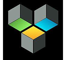 Cube Composition Photographic Print