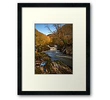 Cenarth Falls Framed Print