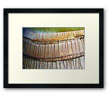 Moving rings Framed Print