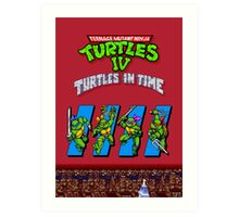 TMNT Turtles in Time Art Print