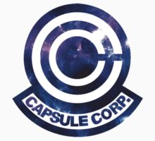 Galaxy Capsule Corp Logo Kids Clothes