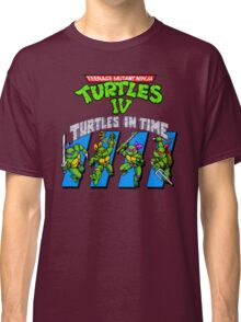 TMNT Turtles in Time shirt Classic T-Shirt