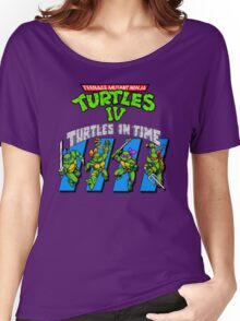 TMNT Turtles in Time shirt Women's Relaxed Fit T-Shirt