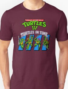 TMNT Turtles in Time shirt T-Shirt