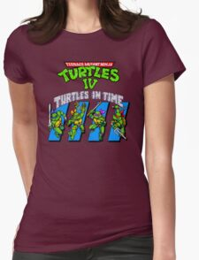 TMNT Turtles in Time shirt Womens Fitted T-Shirt