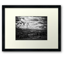 Swaledale sunshine, almost Framed Print