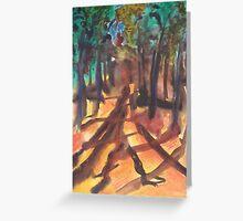 Speaking Tree Greeting Card