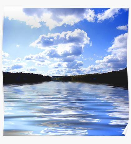Thunderbird Lake Poster