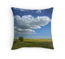 Alberta Prairie Throw Pillow