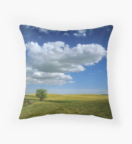 Alberta Prairie Throw Pillow