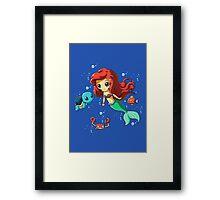 Disney's Ariel - Pokemon Mash Up Framed Print