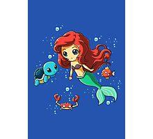 Disney's Ariel - Pokemon Mash Up Photographic Print
