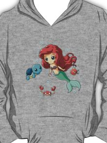 Disney's Ariel - Pokemon Mash Up T-Shirt