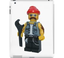 LEGO Bike Mechanic iPad Case/Skin