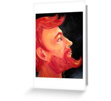 The Brave Warrior of the Universe Greeting Card