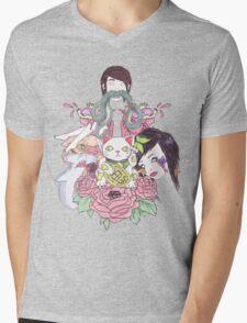 collage Mens V-Neck T-Shirt