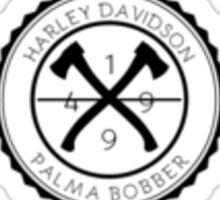 Harley Palma Bobber Sticker
