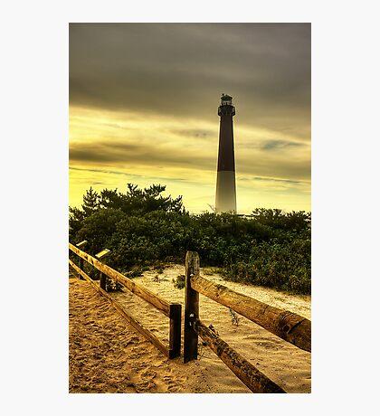 Barnegat Lighthouse Photographic Print