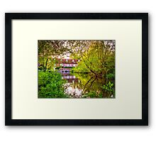 Denford Mill Framed Print