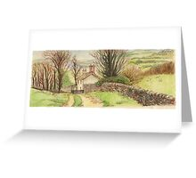 British Countryside 1 Greeting Card