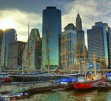 South Street Seaport by mhuaylla