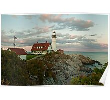 A Beautiful Maine Sunset Poster