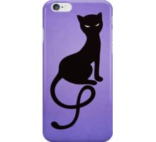 Gracious Evil Black Cat IPhone Case iPhone Case/Skin