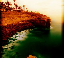 Sunset Cliffs, San Diego by Scott  Remmers