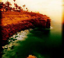 Sunset Cliffs, San Diego by Scott  Remmers